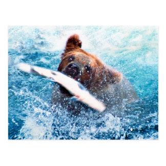 Cartão do urso de urso
