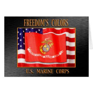 Cartão do USMC