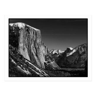 Cartão do vale de Yosemite