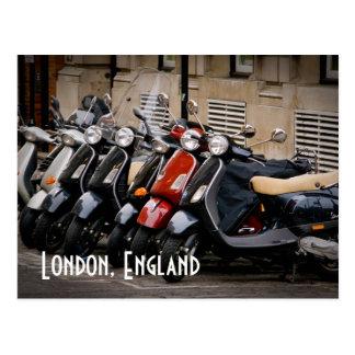 Cartão do velomotor de Londres, Inglaterra