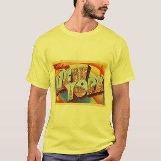 Cartão do viagem da letra da Nova Iorque #2 NY Camiseta