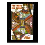 Cartão do viagem de Las Vegas do vintage Cartão Postal