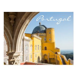 Cartão do viagem de Portugal - Palacio a Dinamarca