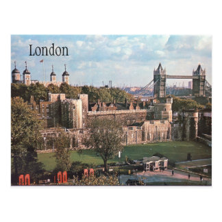 Cartão do vintage de Londres