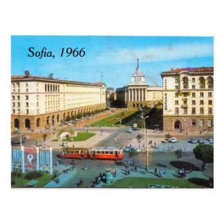 Cartão do vintage de Sófia