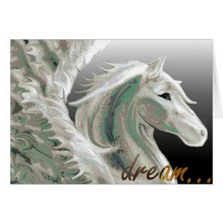 Cartão do vôo de Pegasus
