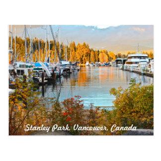 Cartão do Waterside do parque de Stanley Cartão Postal