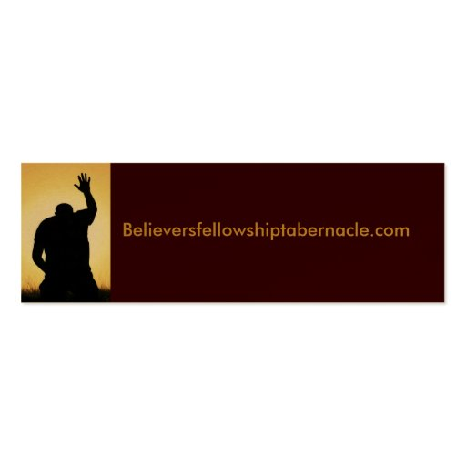 Cartão do Web site da igreja Modelos Cartoes De Visitas