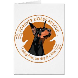 Cartão dobe-logotipo-redondo-alaranjado