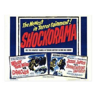 Cartão dobro do mfrankenstein de Shockorama