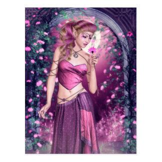 Cartão doce das reflexões do amor