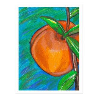 Cartão doce do pêssego