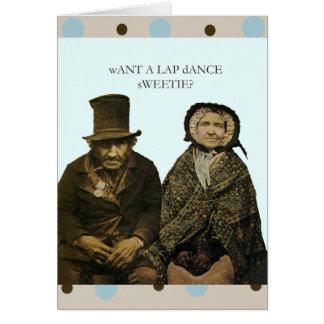 Cartão Docinho da dança do regaço