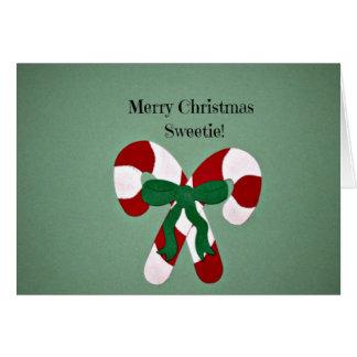 Cartão Docinho do Feliz Natal