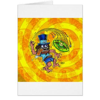 Cartão DOD - Golfe do disco