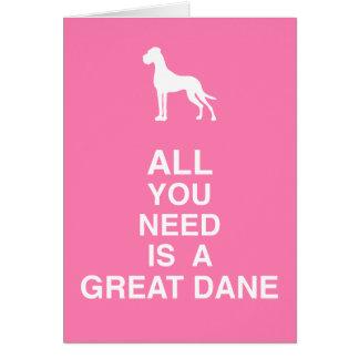 Cartão Doggengrußkarten