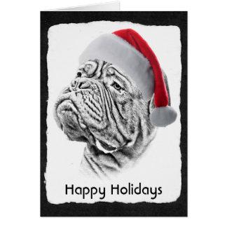 Cartão Dogue De Bordéus - Mastiff francês