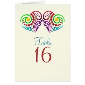 Cartão Dois corações que Wedding