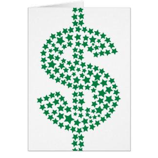 Cartão Dólar americano
