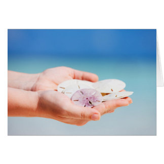 Cartão Dólares de areia