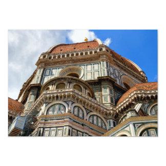 Cartão Domo, em Florença, Toscânia, Italia