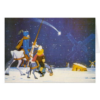 Cartão DON QUIJOTE - ¡ Feliz Navidad!  - Tarjeta Navidad