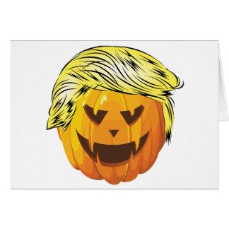 Cartão Donald Trumpkin