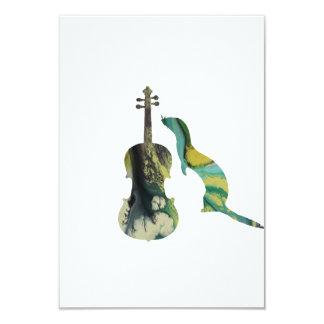 Cartão Doninha e saxofone