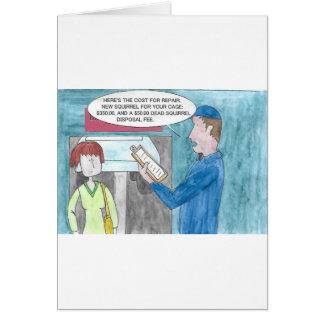 Cartão Dor na carteira