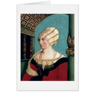 Cartão Dorothea Kannengiesser, 1516 (tempera no limewood)