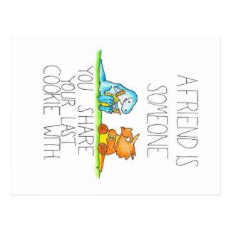 Cartão dos AMIGOS 2 do DINOSSAURO por Nicole Janes