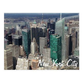 Cartão dos arranha-céus da Nova Iorque
