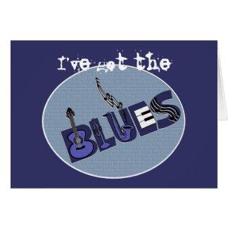 Cartão dos azuis