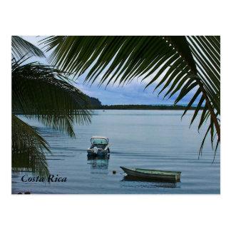 Cartão dos barcos de pesca de Costa Rica Cartoes Postais