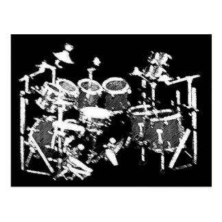 Cartão dos bateristas
