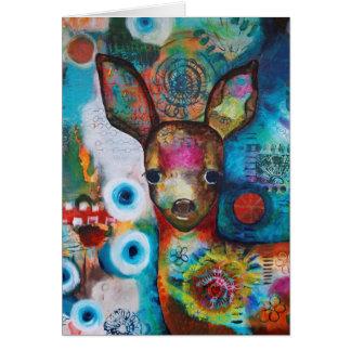 """Cartão Dos """"cartão de aniversário meus cervos"""""""
