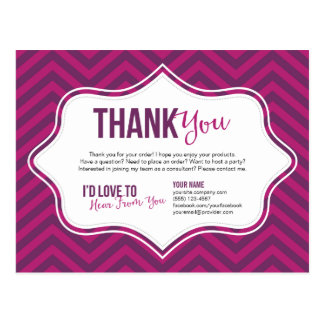 Cartão dos cartões de agradecimentos cartão postal