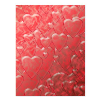 Cartão dos corações