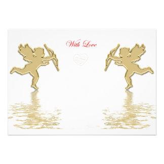 cartão dos Cupido