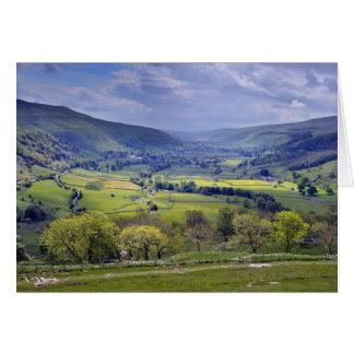Cartão dos Dales de Yorkshire - adicione sua