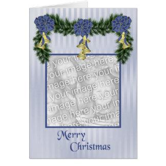 Cartão dos ganhos do Natal