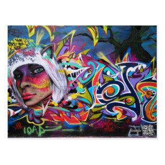 Cartão dos grafites