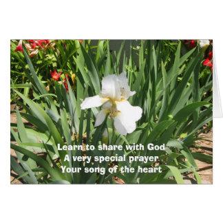 Cartão dos haicais da canção do coração