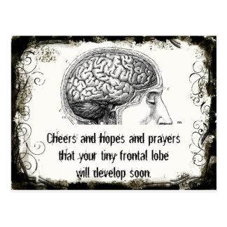 Cartão dos haicais do lóbulo frontal