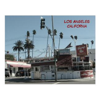 Cartão dos hamburgueres de Los Angeles!