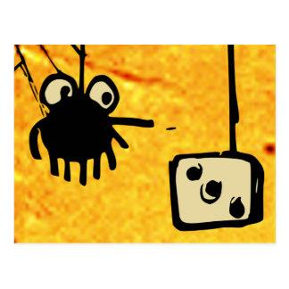 Cartão dos jogos do Cobweb
