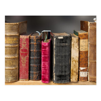 Cartão dos livros velhos