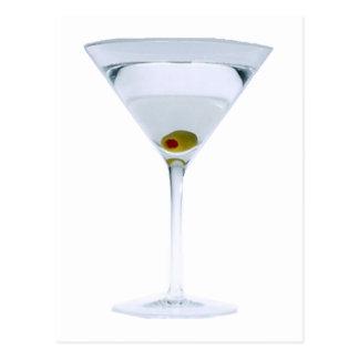 Cartão dos Martinis