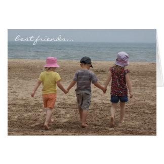 Cartão dos melhores amigos