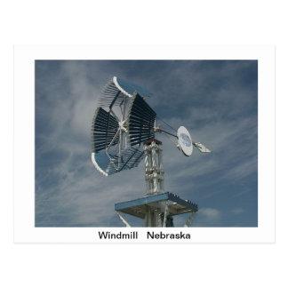 Cartão dos moinhos de vento